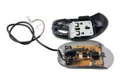 σπασμένο ποντίκι υπολογιστών στοκ φωτογραφίες με δικαίωμα ελεύθερης χρήσης
