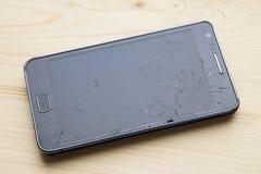 Σπασμένο τηλέφωνο επίδειξης Στοκ εικόνες με δικαίωμα ελεύθερης χρήσης