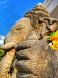 Σπασμένο το s ελεφαντόδοντο Ganesha ` φορτίων, ο Θεός της επιτυχίας στοκ φωτογραφίες με δικαίωμα ελεύθερης χρήσης