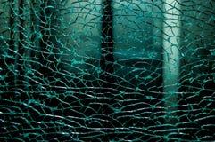 Σπασμένο χαλασμένο γυαλί Στοκ Φωτογραφίες