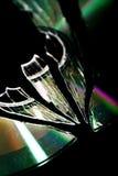 σπασμένο Cd dvd Στοκ Εικόνες