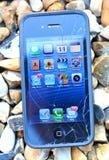 σπασμένο iphone στοκ φωτογραφίες με δικαίωμα ελεύθερης χρήσης