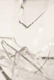 Σπασμένο Pilsner γυαλί Στοκ φωτογραφία με δικαίωμα ελεύθερης χρήσης