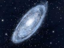σπείρα γαλαξιών Στοκ εικόνα με δικαίωμα ελεύθερης χρήσης