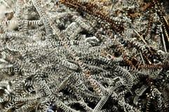 σπείρα ξεσμάτων μετάλλων Στοκ φωτογραφία με δικαίωμα ελεύθερης χρήσης