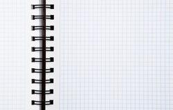 σπείρα σημειωματάριων ανα Στοκ φωτογραφίες με δικαίωμα ελεύθερης χρήσης