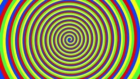 Σπείρα των χρωμάτων απεικόνιση αποθεμάτων