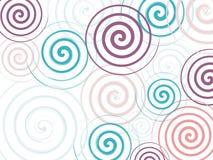 Σπείρα χρώματος υποβάθρου Στοκ φωτογραφία με δικαίωμα ελεύθερης χρήσης