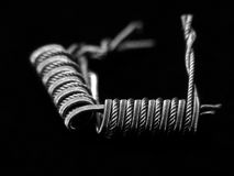 Σπείρες για τα ηλεκτρονικά τσιγάρα Στοκ Φωτογραφίες