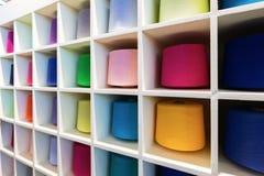 Σπείρες με τα πολύχρωμα σκοινιά στοκ φωτογραφία