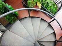 σπειροειδής σκάλα μετά&lambda Στοκ φωτογραφίες με δικαίωμα ελεύθερης χρήσης