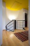 σπειροειδής σκάλα πατωμ Στοκ Εικόνες