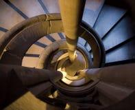σπειροειδή σκαλοπάτια Στοκ Φωτογραφίες