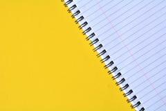 Σπειροειδές σημειωματάριο Στοκ εικόνα με δικαίωμα ελεύθερης χρήσης