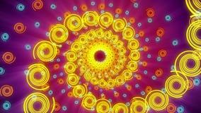 Σπειροειδές Psychedelic υπόβαθρο σηράγγων στροβίλου απεικόνιση αποθεμάτων
