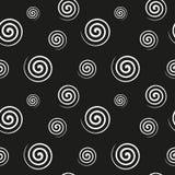 Σπειροειδής μονοχρωματική άνευ ραφής σύσταση απεικόνιση αποθεμάτων