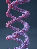 Σπειροειδής μοριακή δομή ελεύθερη απεικόνιση δικαιώματος