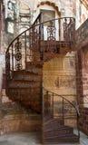 Σπειροειδής σκάλα σιδήρου στο Jodhpur, Ινδία Στοκ Εικόνα
