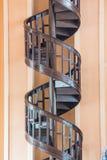 Σπειροειδής σκάλα. στοκ εικόνες