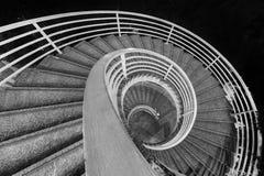 σπειροειδής σκάλα Στοκ Φωτογραφίες