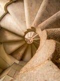 σπειροειδής σκάλα Στοκ φωτογραφία με δικαίωμα ελεύθερης χρήσης