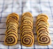 σπειροειδή μπισκότα Στοκ εικόνα με δικαίωμα ελεύθερης χρήσης