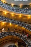 Σπειροειδή σκαλοπάτια Βατικάνου Στοκ Εικόνες