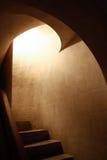 Σπειροειδή σκαλοπάτια Στοκ εικόνες με δικαίωμα ελεύθερης χρήσης