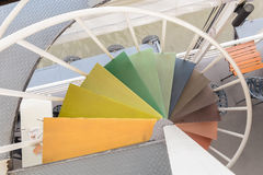 σπειροειδή σκαλοπάτια Στοκ φωτογραφίες με δικαίωμα ελεύθερης χρήσης
