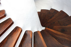 Σπειροειδείς σκάλες Στοκ Φωτογραφίες