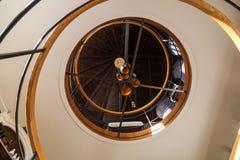 Σπειροειδείς σκάλες Στοκ εικόνα με δικαίωμα ελεύθερης χρήσης