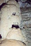 Σπηλιά καρστ Athos Στοκ Εικόνες