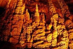 Σπηλιά σταλακτιτών Soreq Στοκ εικόνες με δικαίωμα ελεύθερης χρήσης