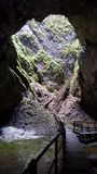 Σπηλιά στη Ρουμανία Στοκ Φωτογραφίες
