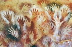 Σπηλιά χεριών, Santa Cruz, Παταγωνία Αργεντινή Στοκ φωτογραφία με δικαίωμα ελεύθερης χρήσης