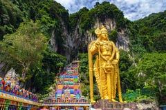 Σπηλιά Batu στη Μαλαισία, ναός Hinduism στοκ εικόνες με δικαίωμα ελεύθερης χρήσης