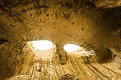 Σπηλιά Prohodna, Karlukovo, Βουλγαρία Στοκ Εικόνες