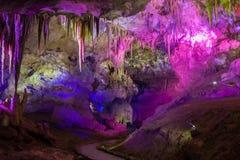 Σπηλιά PROMETHEUS σε Tskaltubo, η περιοχή Imereti της Γεωργίας στοκ εικόνες