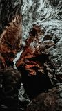Σπηλιές σε Nainital, Uttarakhand, Ινδία στοκ φωτογραφία