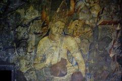 Σπηλιές Ajanta, Ινδία στοκ εικόνες