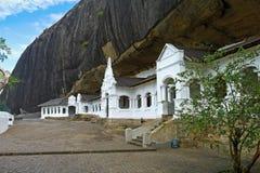 Σπηλιές Dambulla Στοκ φωτογραφίες με δικαίωμα ελεύθερης χρήσης