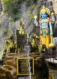 Σπηλιές Ramayana, σπηλιές Batu στη Κουάλα Λουμπούρ, Μαλαισία, Ασία Στοκ εικόνες με δικαίωμα ελεύθερης χρήσης