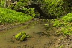Σπηλιά αψίδων την άνοιξη Στοκ εικόνα με δικαίωμα ελεύθερης χρήσης