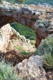 Σπηλιά αψίδων Στοκ εικόνες με δικαίωμα ελεύθερης χρήσης