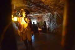 Σπηλιά Γιβραλτάρ του ST michaels Στοκ φωτογραφία με δικαίωμα ελεύθερης χρήσης