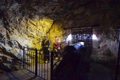 Σπηλιά Γιβραλτάρ του ST michaels Στοκ εικόνα με δικαίωμα ελεύθερης χρήσης
