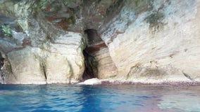 Σπηλιά γοργόνων στη Σαρδηνία Στοκ εικόνα με δικαίωμα ελεύθερης χρήσης