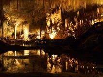Σπηλιά λιμνών, ποταμός της Margaret, δυτική Αυστραλία στοκ εικόνες
