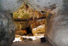 Σπηλιά κεντρικών καθρεφτών Στοκ Εικόνες
