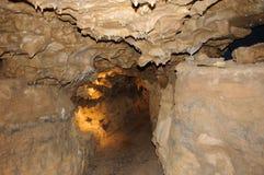 Σπηλιά κρυστάλλου οριζόντια Στοκ φωτογραφία με δικαίωμα ελεύθερης χρήσης